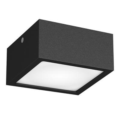 Светильник Lightstar 213927 ZOLLAквадратные светильники<br>Крепление: a77 ; Внешние габариты: L100 W100 H 55; Материал - основание/плафон: металл/акрил ; Цвет-основание/плафон: черный; Лампа: LED 10Вт соответствует 100Вт лампе накаливания, Световой поток: 780LM; 4000K<br><br>S освещ. до, м2: 4<br>Цветовая t, К: 4000<br>Тип лампы: LED - светодиодная<br>Тип цоколя: LED<br>Цвет арматуры: черный<br>Количество ламп: 1<br>Ширина, мм: 100<br>Высота полная, мм: 55<br>Размеры основания, мм: 100/100<br>Длина, мм: 100<br>Поверхность арматуры: матовая<br>Оттенок (цвет): черный<br>MAX мощность ламп, Вт: 9