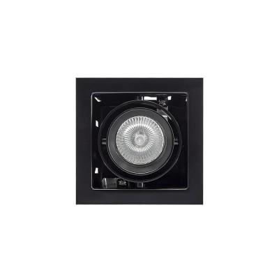 Lightstar 214018 Светильник CARDANO 16Х1 MR16/HP16 ЧЕРНЫЙКарданные<br><br><br>Тип цоколя: GU5.3/GU10<br>Количество ламп: 1<br>MAX мощность ламп, Вт: 50W