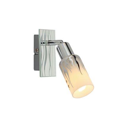 Светильник Colosseo 21402/1Одиночные<br>Светильники-споты – это оригинальные изделия с современным дизайном. Они позволяют не ограничивать свою фантазию при выборе освещения для интерьера. Такие модели обеспечивают достаточно качественный свет. Благодаря компактным размерам Вы можете использовать несколько спотов для одного помещения. <br>Интернет-магазин «Светодом» предлагает необычный светильник-спот Colosseo 21402/1 по привлекательной цене. Эта модель станет отличным дополнением к люстре, выполненной в том же стиле. Перед оформлением заказа изучите характеристики изделия. <br>Купить светильник-спот Colosseo 21402/1 в нашем онлайн-магазине Вы можете либо с помощью формы на сайте, либо по указанным выше телефонам. Обратите внимание, что мы предлагаем доставку не только по Москве и Екатеринбургу, но и всем остальным российским городам.<br><br>S освещ. до, м2: 4<br>Крепление: планка<br>Тип лампы: накал-я - энергосбер-я<br>Тип цоколя: E14<br>Цвет арматуры: серебристый<br>Количество ламп: 1<br>Диаметр, мм мм: 80<br>Расстояние от стены, мм: 170<br>Высота, мм: 170<br>MAX мощность ламп, Вт: 40