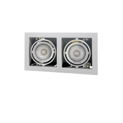 Lightstar CARDANO 214027 СветильникКарданные<br><br><br>Тип лампы: галогенная/LED<br>Тип цоколя: MR16 HP16<br>Количество ламп: 1<br>Ширина, мм: 110<br>MAX мощность ламп, Вт: 50W<br>Размеры: Размер врезного отверстия 95 x 185  Высота врезного отверстия<br>Длина, мм: 206<br>Высота, мм: 5<br>Цвет арматуры: титан