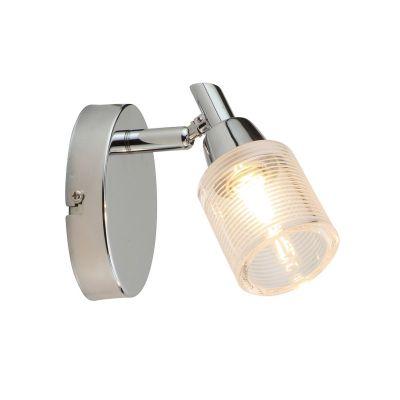 Светильник Colosseo 21403/1Одиночные<br>Светильники-споты – это оригинальные изделия с современным дизайном. Они позволяют не ограничивать свою фантазию при выборе освещения для интерьера. Такие модели обеспечивают достаточно качественный свет. Благодаря компактным размерам Вы можете использовать несколько спотов для одного помещения. <br>Интернет-магазин «Светодом» предлагает необычный светильник-спот Colosseo 21403/1 по привлекательной цене. Эта модель станет отличным дополнением к люстре, выполненной в том же стиле. Перед оформлением заказа изучите характеристики изделия. <br>Купить светильник-спот Colosseo 21403/1 в нашем онлайн-магазине Вы можете либо с помощью формы на сайте, либо по указанным выше телефонам. Обратите внимание, что мы предлагаем доставку не только по Москве и Екатеринбургу, но и всем остальным российским городам.<br><br>S освещ. до, м2: 4<br>Крепление: планка<br>Тип лампы: галогенная / LED-светодиодная<br>Тип цоколя: G9<br>Цвет арматуры: серебристый<br>Количество ламп: 1<br>Диаметр, мм мм: 70<br>Расстояние от стены, мм: 140<br>Высота, мм: 110<br>MAX мощность ламп, Вт: 40