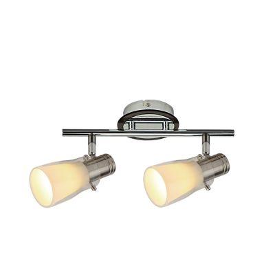 Светильник Colosseo 21405/2Двойные<br>Светильники-споты – это оригинальные изделия с современным дизайном. Они позволяют не ограничивать свою фантазию при выборе освещения для интерьера. Такие модели обеспечивают достаточно качественный свет. Благодаря компактным размерам Вы можете использовать несколько спотов для одного помещения.  Интернет-магазин «Светодом» предлагает необычный светильник-спот Colosseo 21405/2 по привлекательной цене. Эта модель станет отличным дополнением к люстре, выполненной в том же стиле. Перед оформлением заказа изучите характеристики изделия.  Купить светильник-спот Colosseo 21405/2 в нашем онлайн-магазине Вы можете либо с помощью формы на сайте, либо по указанным выше телефонам. Обратите внимание, что мы предлагаем доставку не только по Москве и Екатеринбургу, но и всем остальным российским городам.<br><br>S освещ. до, м2: 6<br>Крепление: планка<br>Тип лампы: накал-я - энергосбер-я<br>Тип цоколя: E14<br>Количество ламп: 2<br>Ширина, мм: 110<br>MAX мощность ламп, Вт: 40<br>Расстояние от стены, мм: 160<br>Высота, мм: 305<br>Цвет арматуры: серебристый