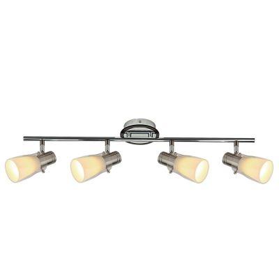 Светильник Colosseo 21405/4С 4 лампами<br>Светильники-споты – это оригинальные изделия с современным дизайном. Они позволяют не ограничивать свою фантазию при выборе освещения для интерьера. Такие модели обеспечивают достаточно качественный свет. Благодаря компактным размерам Вы можете использовать несколько спотов для одного помещения. <br>Интернет-магазин «Светодом» предлагает необычный светильник-спот Colosseo 21405/4 по привлекательной цене. Эта модель станет отличным дополнением к люстре, выполненной в том же стиле. Перед оформлением заказа изучите характеристики изделия. <br>Купить светильник-спот Colosseo 21405/4 в нашем онлайн-магазине Вы можете либо с помощью формы на сайте, либо по указанным выше телефонам. Обратите внимание, что у нас склады не только в Москве и Екатеринбурге, но и других городах России.<br><br>S освещ. до, м2: 13<br>Крепление: планка<br>Тип лампы: накал-я - энергосбер-я<br>Тип цоколя: E14<br>Количество ламп: 4<br>Ширина, мм: 110<br>MAX мощность ламп, Вт: 40<br>Расстояние от стены, мм: 130<br>Высота, мм: 645<br>Цвет арматуры: серебристый