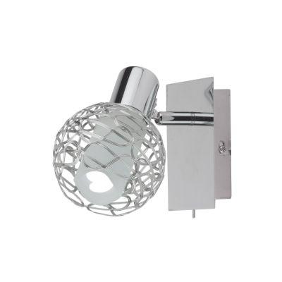 Светильник Colosseo 21407/1Одиночные<br>Светильники-споты – это оригинальные изделия с современным дизайном. Они позволяют не ограничивать свою фантазию при выборе освещения для интерьера. Такие модели обеспечивают достаточно качественный свет. Благодаря компактным размерам Вы можете использовать несколько спотов для одного помещения.  Интернет-магазин «Светодом» предлагает необычный светильник-спот Colosseo 21407/1 по привлекательной цене. Эта модель станет отличным дополнением к люстре, выполненной в том же стиле. Перед оформлением заказа изучите характеристики изделия.  Купить светильник-спот Colosseo 21407/1 в нашем онлайн-магазине Вы можете либо с помощью формы на сайте, либо по указанным выше телефонам. Обратите внимание, что у нас склады не только в Москве и Екатеринбурге, но и других городах России.<br><br>S освещ. до, м2: 4<br>Крепление: планка<br>Тип лампы: накал-я - энергосбер-я<br>Тип цоколя: E14<br>Количество ламп: 1<br>Ширина, мм: 80<br>MAX мощность ламп, Вт: 40<br>Расстояние от стены, мм: 140<br>Высота, мм: 140<br>Цвет арматуры: серебристый хром