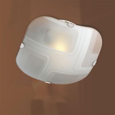 Светильник Сонекс 2141 хром IllusionДекоративные<br>Настенно потолочный светильник Сонекс (Sonex) 2141  подходит как для установки в вертикальном положении - на стены, так и для установки в горизонтальном - на потолок. Для установки настенно потолочных светильников на натяжной потолок необходимо использовать светодиодные лампы LED, которые экономнее ламп Ильича (накаливания) в 10 раз, выделяют мало тепла и не дадут расплавиться Вашему потолку.<br><br>S освещ. до, м2: 13<br>Тип лампы: накаливания / энергосбережения / LED-светодиодная<br>Тип цоколя: E27<br>Цвет арматуры: серебристый<br>Количество ламп: 2<br>Ширина, мм: 314<br>Высота, мм: 314<br>MAX мощность ламп, Вт: 100