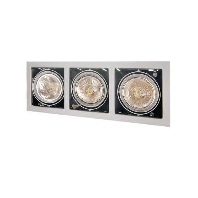 Lightstar CARDANO 214137 СветильникКарданные<br><br><br>Тип цоколя: DR111<br>Цвет арматуры: титан<br>Количество ламп: 1<br>Ширина, мм: 185<br>Размеры: Размер врезного отверстия 165 x 485  Высота врезного отверстия<br>Длина, мм: 504<br>Высота, мм: 5<br>MAX мощность ламп, Вт: 75W