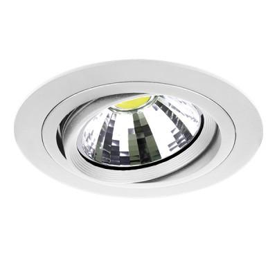Светильник Lightstar 214316 INTEROСветодиодные круглые светильники<br>Встраиваемые светильники – популярное осветительное оборудование, которое можно использовать в качестве основного источника или в дополнение к люстре. Они позволяют создать нужную атмосферу атмосферу и привнести в интерьер уют и комфорт. <br> Интернет-магазин «Светодом» предлагает стильный встраиваемый светильник Lightstar 214316. Данная модель достаточно универсальна, поэтому подойдет практически под любой интерьер. Перед покупкой не забудьте ознакомиться с техническими параметрами, чтобы узнать тип цоколя, площадь освещения и другие важные характеристики. <br> Приобрести встраиваемый светильник Lightstar 214316 в нашем онлайн-магазине Вы можете либо с помощью «Корзины», либо по контактным номерам. Мы развозим заказы по Москве, Екатеринбургу и остальным российским городам.<br><br>Крепление: Пружинное<br>Цветовая t, К: 2400-2800<br>Тип лампы: Галогенные, LED<br>Тип цоколя: DR111<br>Цвет арматуры: белый<br>Количество ламп: 1<br>Диаметр, мм мм: 180<br>Высота полная, мм: 4<br>Диаметр врезного отверстия, мм: 145<br>Поверхность арматуры: матовый<br>Оттенок (цвет): белый<br>MAX мощность ламп, Вт: 50