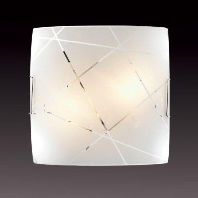 Потолочный светильник Сонекс 2144 хром/белый VASTOКвадратные<br><br><br>S освещ. до, м2: 13<br>Тип товара: Светильник настенно-потолочный<br>Тип лампы: накаливания / энергосбережения / LED-светодиодная<br>Тип цоколя: E27<br>Количество ламп: 2<br>Ширина, мм: 300<br>MAX мощность ламп, Вт: 100<br>Длина, мм: 300<br>Цвет арматуры: серебристый