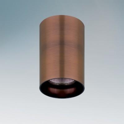 Lightstar RULLO 214430 СветильникДекоративные<br>Настенно-потолочные светильники – это универсальные осветительные варианты, которые подходят для вертикального и горизонтального монтажа. В интернет-магазине «Светодом» Вы можете приобрести подобные модели по выгодной стоимости. В нашем каталоге представлены как бюджетные варианты, так и эксклюзивные изделия от производителей, которые уже давно заслужили доверие дизайнеров и простых покупателей.  Настенно-потолочный светильник Lightstar 214430 станет прекрасным дополнением к основному освещению. Благодаря качественному исполнению и применению современных технологий при производстве эта модель будет радовать Вас своим привлекательным внешним видом долгое время. Приобрести настенно-потолочный светильник Lightstar 214430 можно, находясь в любой точке России. Компания «Светодом» осуществляет доставку заказов не только по Москве и Екатеринбургу, но и в остальные города.<br><br>S освещ. до, м2: 3<br>Тип цоколя: GU10<br>Количество ламп: 1<br>MAX мощность ламп, Вт: 50<br>Цвет арматуры: бронзовый
