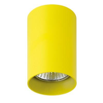 Lightstar RULLO 214433 СветильникДекоративные<br>Настенно-потолочные светильники – это универсальные осветительные варианты, которые подходят для вертикального и горизонтального монтажа. В интернет-магазине «Светодом» Вы можете приобрести подобные модели по выгодной стоимости. В нашем каталоге представлены как бюджетные варианты, так и эксклюзивные изделия от производителей, которые уже давно заслужили доверие дизайнеров и простых покупателей. <br>Настенно-потолочный светильник Lightstar 214433 станет прекрасным дополнением к основному освещению. Благодаря качественному исполнению и применению современных технологий при производстве эта модель будет радовать Вас своим привлекательным внешним видом долгое время. <br>Приобрести настенно-потолочный светильник Lightstar 214433 можно, находясь в любой точке России.<br><br>S освещ. до, м2: 3<br>Тип лампы: галогенная/LED<br>Тип цоколя: GU10<br>Цвет арматуры: желтый<br>Количество ламп: 1<br>Диаметр, мм мм: 60<br>Высота, мм: 100<br>MAX мощность ламп, Вт: 50