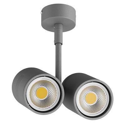 Купить Светильник точечный накладной под заменяемые галогенные или LED лампы Lightstar 214449 Rullo, Китай, Металл