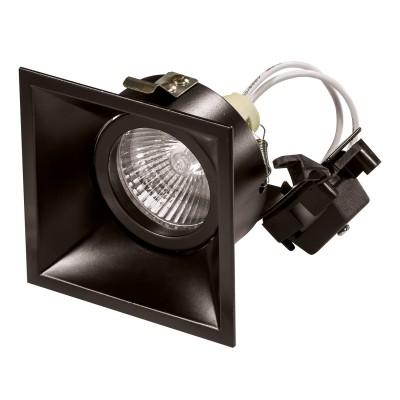 Lightstar DOMINO 214507 СветильникКвадратные<br>Встраиваемые светильники – популярное осветительное оборудование, которое можно использовать в качестве основного источника или в дополнение к люстре. Они позволяют создать нужную атмосферу атмосферу и привнести в интерьер уют и комфорт. <br> Интернет-магазин «Светодом» предлагает стильный встраиваемый светильник Lightstar 214507. Данная модель достаточно универсальна, поэтому подойдет практически под любой интерьер. Перед покупкой не забудьте ознакомиться с техническими параметрами, чтобы узнать тип цоколя, площадь освещения и другие важные характеристики. <br> Приобрести встраиваемый светильник Lightstar 214507 в нашем онлайн-магазине Вы можете либо с помощью «Корзины», либо по контактным номерам. Мы развозим заказы по Москве, Екатеринбургу и остальным российским городам.<br><br>Тип лампы: галогенная/LED<br>Тип цоколя: gu5.3<br>Цвет арматуры: черный<br>Ширина, мм: 83<br>Диаметр врезного отверстия, мм: 75<br>Длина, мм: 83<br>Высота, мм: 85
