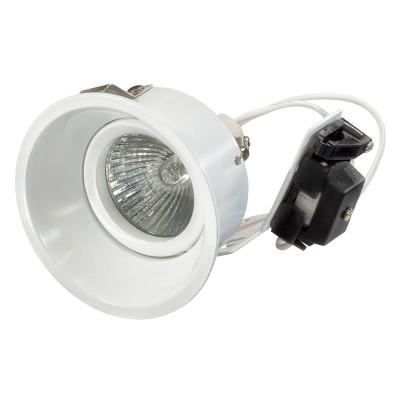 Lightstar DOMINO 214606 светильникКруглые<br>Встраиваемые светильники – популярное осветительное оборудование, которое можно использовать в качестве основного источника или в дополнение к люстре. Они позволяют создать нужную атмосферу атмосферу и привнести в интерьер уют и комфорт. <br> Интернет-магазин «Светодом» предлагает стильный встраиваемый светильник Lightstar 214606. Данная модель достаточно универсальна, поэтому подойдет практически под любой интерьер. Перед покупкой не забудьте ознакомиться с техническими параметрами, чтобы узнать тип цоколя, площадь освещения и другие важные характеристики. <br> Приобрести встраиваемый светильник Lightstar 214606 в нашем онлайн-магазине Вы можете либо с помощью «Корзины», либо по контактным номерам. Мы развозим заказы по Москве, Екатеринбургу и остальным российским городам.<br><br>Тип лампы: галогенная/LED<br>Тип цоколя: gu5.3<br>Цвет арматуры: белый<br>Диаметр, мм мм: 83<br>Диаметр врезного отверстия, мм: 75<br>Высота, мм: 85<br>MAX мощность ламп, Вт: 50