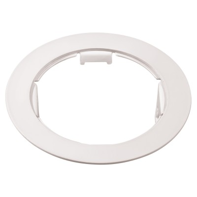 Lightstar DOMINO 214616 Рамка для светильникаДаунлайты<br><br><br>Тип цоколя: МR16<br>Диаметр, мм мм: 115<br>Диаметр врезного отверстия, мм: 90<br>Цвет арматуры: белый