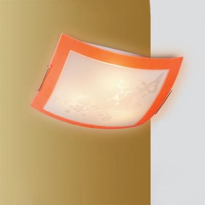 Светильник Сонекс 2148 оранжевый/хром SakuraКвадратные<br>Настенно потолочный светильник Сонекс (Sonex) 2148 подходит как для установки в вертикальном положении - на стены, так и для установки в горизонтальном - на потолок. Для установки настенно потолочных светильников на натяжной потолок необходимо использовать светодиодные лампы LED, которые экономнее ламп Ильича (накаливания) в 10 раз, выделяют мало тепла и не дадут расплавиться Вашему потолку.<br><br>S освещ. до, м2: 13<br>Тип товара: Светильник настенно-потолочный<br>Скидка, %: 39<br>Тип лампы: накаливания / энергосбережения / LED-светодиодная<br>Тип цоколя: E27<br>Количество ламп: 2<br>Ширина, мм: 300<br>MAX мощность ламп, Вт: 100<br>Высота, мм: 300<br>Цвет арматуры: серебристый