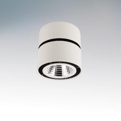 Lightstar Forte 214830 СветильникОдиночные<br><br><br>Тип товара: Светильник<br>Тип лампы: LED<br>Тип цоколя: LED<br>MAX мощность ламп, Вт: 26<br>Диаметр, мм мм: 125<br>Высота, мм: 130<br>Цвет арматуры: белый