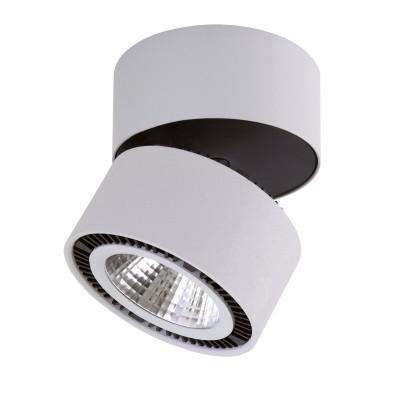 Lightstar Forte 214839 СветильникОдиночные<br>Светильники-споты – это оригинальные изделия с современным дизайном. Они позволяют не ограничивать свою фантазию при выборе освещения для интерьера. Такие модели обеспечивают достаточно качественный свет. Благодаря компактным размерам Вы можете использовать несколько спотов для одного помещения.  Интернет-магазин «Светодом» предлагает необычный светильник-спот Lightstar 214839 по привлекательной цене. Эта модель станет отличным дополнением к люстре, выполненной в том же стиле. Перед оформлением заказа изучите характеристики изделия.  Купить светильник-спот Lightstar 214839 в нашем онлайн-магазине Вы можете либо с помощью формы на сайте, либо по указанным выше телефонам. Обратите внимание, что у нас склады не только в Москве и Екатеринбурге, но и других городах России.<br><br>S освещ. до, м2: 11<br>Цветовая t, К: 4000<br>Тип лампы: LED<br>Тип цоколя: LED<br>Диаметр, мм мм: 125<br>Высота, мм: 130<br>MAX мощность ламп, Вт: 26