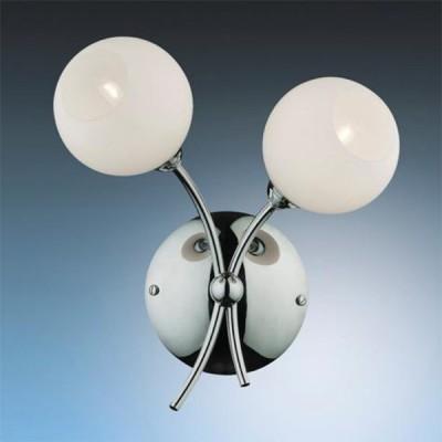 Светильник Odeon Light 2159/2W Frante хромМодерн<br><br><br>S освещ. до, м2: 5<br>Тип товара: Светильник настенный бра<br>Тип лампы: галогенная / LED-светодиодная<br>Тип цоколя: G9<br>Количество ламп: 2<br>Ширина, мм: 210<br>MAX мощность ламп, Вт: 40<br>Высота, мм: 255<br>Цвет арматуры: серебристый