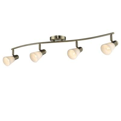 Люстра Colosseo 21601/4 POMPEIС 4 лампами<br>Светильники-споты – это оригинальные изделия с современным дизайном. Они позволяют не ограничивать свою фантазию при выборе освещения для интерьера. Такие модели обеспечивают достаточно качественный свет. Благодаря компактным размерам Вы можете использовать несколько спотов для одного помещения. <br>Интернет-магазин «Светодом» предлагает необычный светильник-спот Colosseo 21601/4 по привлекательной цене. Эта модель станет отличным дополнением к люстре, выполненной в том же стиле. Перед оформлением заказа изучите характеристики изделия. <br>Купить светильник-спот Colosseo 21601/4 в нашем онлайн-магазине Вы можете либо с помощью формы на сайте, либо по указанным выше телефонам. Обратите внимание, что у нас склады не только в Москве и Екатеринбурге, но и других городах России.<br><br>S освещ. до, м2: 12<br>Тип лампы: накаливания / энергосбережения / LED-светодиодная<br>Тип цоколя: E14<br>Цвет арматуры: бронзовый<br>Количество ламп: 4<br>Ширина, мм: 890<br>Диаметр, мм мм: 890<br>Длина, мм: 200<br>Высота, мм: 170<br>MAX мощность ламп, Вт: 60