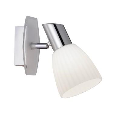 Светильник Colosseo 21602/1 SACCOОдиночные<br>Светильники-споты – это оригинальные изделия с современным дизайном. Они позволяют не ограничивать свою фантазию при выборе освещения для интерьера. Такие модели обеспечивают достаточно качественный свет. Благодаря компактным размерам Вы можете использовать несколько спотов для одного помещения.  Интернет-магазин «Светодом» предлагает необычный светильник-спот Colosseo 21602/1 по привлекательной цене. Эта модель станет отличным дополнением к люстре, выполненной в том же стиле. Перед оформлением заказа изучите характеристики изделия.  Купить светильник-спот Colosseo 21602/1 в нашем онлайн-магазине Вы можете либо с помощью формы на сайте, либо по указанным выше телефонам. Обратите внимание, что у нас склады не только в Москве и Екатеринбурге, но и других городах России.<br><br>Тип лампы: накаливания / энергосбережения / LED-светодиодная<br>Количество ламп: 1<br>MAX мощность ламп, Вт: 60<br>Диаметр, мм мм: 80<br>Высота, мм: 150