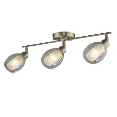 Светильник Colosseo 21603/3 GAIOТройные<br>Светильники-споты – это оригинальные изделия с современным дизайном. Они позволяют не ограничивать свою фантазию при выборе освещения для интерьера. Такие модели обеспечивают достаточно качественный свет. Благодаря компактным размерам Вы можете использовать несколько спотов для одного помещения.  Интернет-магазин «Светодом» предлагает необычный светильник-спот Colosseo 21603/3 по привлекательной цене. Эта модель станет отличным дополнением к люстре, выполненной в том же стиле. Перед оформлением заказа изучите характеристики изделия.  Купить светильник-спот Colosseo 21603/3 в нашем онлайн-магазине Вы можете либо с помощью формы на сайте, либо по указанным выше телефонам. Обратите внимание, что у нас склады не только в Москве и Екатеринбурге, но и других городах России.<br><br>Тип лампы: накаливания / энергосбережения / LED-светодиодная<br>Тип цоколя: E14<br>Количество ламп: 3<br>Ширина, мм: 580<br>MAX мощность ламп, Вт: 60<br>Диаметр, мм мм: 580<br>Длина, мм: 200<br>Высота, мм: 160<br>Цвет арматуры: бронзовый