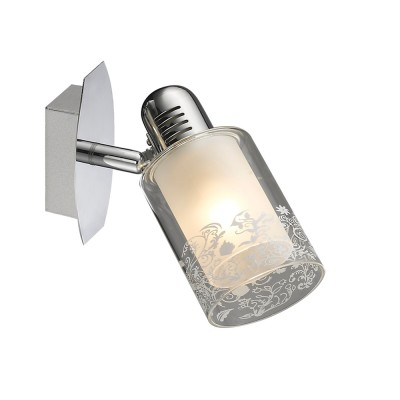 Светильник Colosseo 21604/1 RENEOОдиночные<br>Светильники-споты – это оригинальные изделия с современным дизайном. Они позволяют не ограничивать свою фантазию при выборе освещения для интерьера. Такие модели обеспечивают достаточно качественный свет. Благодаря компактным размерам Вы можете использовать несколько спотов для одного помещения.  Интернет-магазин «Светодом» предлагает необычный светильник-спот Colosseo 21604/1 по привлекательной цене. Эта модель станет отличным дополнением к люстре, выполненной в том же стиле. Перед оформлением заказа изучите характеристики изделия.  Купить светильник-спот Colosseo 21604/1 в нашем онлайн-магазине Вы можете либо с помощью формы на сайте, либо по указанным выше телефонам. Обратите внимание, что мы предлагаем доставку не только по Москве и Екатеринбургу, но и всем остальным российским городам.<br><br>Тип товара: споты<br>Тип лампы: накаливания / энергосбережения / LED-светодиодная<br>Тип цоколя: E14<br>Количество ламп: 1<br>Ширина, мм: 130<br>MAX мощность ламп, Вт: 60<br>Диаметр, мм мм: 130<br>Длина, мм: 200<br>Высота, мм: 180<br>Цвет арматуры: серебристый