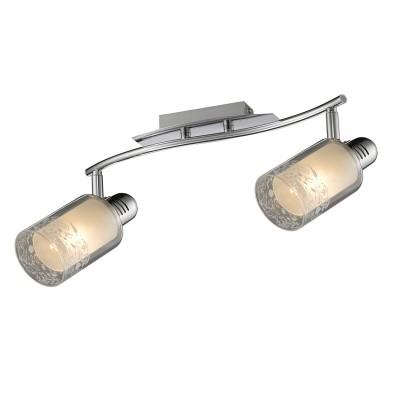 Светильник Colosseo 21604/2 RENEOДвойные<br>Светильники-споты – это оригинальные изделия с современным дизайном. Они позволяют не ограничивать свою фантазию при выборе освещения для интерьера. Такие модели обеспечивают достаточно качественный свет. Благодаря компактным размерам Вы можете использовать несколько спотов для одного помещения.  Интернет-магазин «Светодом» предлагает необычный светильник-спот Colosseo 21604/2 по привлекательной цене. Эта модель станет отличным дополнением к люстре, выполненной в том же стиле. Перед оформлением заказа изучите характеристики изделия.  Купить светильник-спот Colosseo 21604/2 в нашем онлайн-магазине Вы можете либо с помощью формы на сайте, либо по указанным выше телефонам. Обратите внимание, что у нас склады не только в Москве и Екатеринбурге, но и других городах России.<br><br>Тип лампы: накаливания / энергосбережения / LED-светодиодная<br>Тип цоколя: E14<br>Количество ламп: 2<br>Ширина, мм: 460<br>MAX мощность ламп, Вт: 60<br>Диаметр, мм мм: 460<br>Длина, мм: 200<br>Высота, мм: 180<br>Цвет арматуры: серебристый