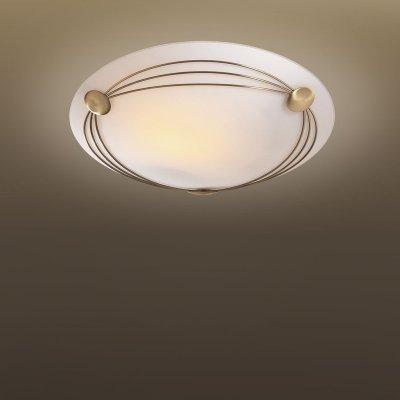 Светильник Сонекс 2162 бронза PagriКруглые<br>Настенно потолочный светильник Сонекс (Sonex) 2162 подходит как для установки в вертикальном положении - на стены, так и для установки в горизонтальном - на потолок. Для установки настенно потолочных светильников на натяжной потолок необходимо использовать светодиодные лампы LED, которые экономнее ламп Ильича (накаливания) в 10 раз, выделяют мало тепла и не дадут расплавиться Вашему потолку.<br><br>S освещ. до, м2: 13<br>Тип лампы: накаливания / энергосбережения / LED-светодиодная<br>Тип цоколя: E27<br>Количество ламп: 2<br>MAX мощность ламп, Вт: 100<br>Диаметр, мм мм: 380<br>Цвет арматуры: бронзовый