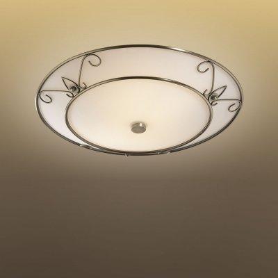 Светильник Сонекс 2163 бронза AntenКруглые<br>Настенно потолочный светильник Сонекс (Sonex) 2163 подходит как для установки в вертикальном положении - на стены, так и для установки в горизонтальном - на потолок. Для установки настенно потолочных светильников на натяжной потолок необходимо использовать светодиодные лампы LED, которые экономнее ламп Ильича (накаливания) в 10 раз, выделяют мало тепла и не дадут расплавиться Вашему потолку.<br><br>S освещ. до, м2: 13<br>Тип лампы: накаливания / энергосбережения / LED-светодиодная<br>Тип цоколя: E27<br>Количество ламп: 2<br>MAX мощность ламп, Вт: 100<br>Диаметр, мм мм: 380<br>Цвет арматуры: бронзовый