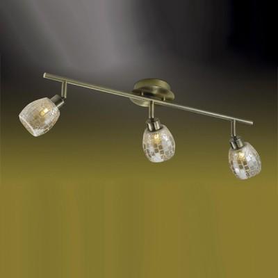 Светильник Odeon light 2166/3W Glosse бронзаТройные<br>Светильники-споты – это оригинальные изделия с современным дизайном. Они позволяют не ограничивать свою фантазию при выборе освещения для интерьера. Такие модели обеспечивают достаточно качественный свет. Благодаря компактным размерам Вы можете использовать несколько спотов для одного помещения.  Интернет-магазин «Светодом» предлагает необычный светильник-спот Odeon light 2166/3W по привлекательной цене. Эта модель станет отличным дополнением к люстре, выполненной в том же стиле. Перед оформлением заказа изучите характеристики изделия.  Купить светильник-спот Odeon light 2166/3W в нашем онлайн-магазине Вы можете либо с помощью формы на сайте, либо по указанным выше телефонам. Обратите внимание, что у нас склады не только в Москве и Екатеринбурге, но и других городах России.<br><br>S освещ. до, м2: 8<br>Тип лампы: галогенная / LED-светодиодная<br>Тип цоколя: G9<br>Количество ламп: 3<br>Ширина, мм: 110<br>MAX мощность ламп, Вт: 40<br>Длина, мм: 565<br>Расстояние от стены, мм: 190<br>Цвет арматуры: золотой
