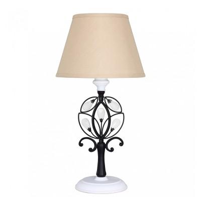 настольный светильник Favourite 2174-1T Laurel blackОжидается<br><br><br>Тип цоколя: E14<br>Количество ламп: 1<br>Размеры: D260*H520<br>MAX мощность ламп, Вт: 40