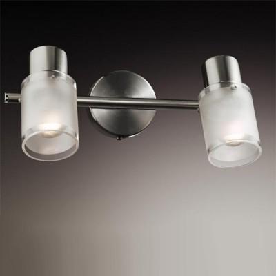 Светильник Odeon light 2175/2W Parfe никельДвойные<br>Допускается установка светильника на вертикальную поверхность - стену и горизонтальную поверхность - потолок.<br><br>S освещ. до, м2: 5<br>Тип товара: Светильник поворотный спот<br>Тип лампы: накал-я - энергосбер-я<br>Тип цоколя: E14<br>Количество ламп: 2<br>Ширина, мм: 275<br>MAX мощность ламп, Вт: 40<br>Высота, мм: 185<br>Цвет арматуры: серый