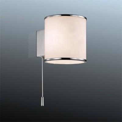 Светильник Odeon Light 2182/1W хром PaluМодерн<br><br><br>S освещ. до, м2: 2<br>Крепление: планка<br>Тип лампы: галогенная / LED-светодиодная<br>Тип цоколя: G9<br>Количество ламп: 1<br>MAX мощность ламп, Вт: 40<br>Длина, мм: 90<br>Высота, мм: 95<br>Цвет арматуры: серебристый
