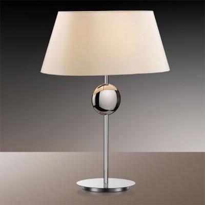 Светильник настольный Odeon light 2195/1T хром HotelС абажуром<br>Настольная лампа – это не просто источник дополнительного освещения, но и оригинальный элемент декора. Его можно установить в спальне, гостиной, кабинете и других комнатах. Интернет-магазин «Светодом» предлагает настольные лампы разных стилей по доступным ценам. Благодаря большому ассортименту Вы обязательно найдете в нашем каталоге именно ту модель, которую искали.   Настольная лампа Odeon light 2195/1T  – прекрасный вариант для завершения интерьера. Ее можно включить одновременно с люстрой для более яркого освещения или без нее для создания уютной атмосферы, настраивающей на отдых.   Купить настольную лампу Odeon light 2195/1T  Вы можете с помощью виртуальной «Корзины» или по контактным номерам, указанным на сайте.<br><br>S освещ. до, м2: 4<br>Тип лампы: накал-я - энергосбер-я<br>Тип цоколя: E27<br>Количество ламп: 1<br>Ширина, мм: 396<br>MAX мощность ламп, Вт: 60<br>Высота, мм: 540<br>Цвет арматуры: серебристый