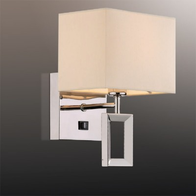 Светильник Odeon Light 2197/1W хром AtoloМодерн<br><br><br>S освещ. до, м2: 2<br>Тип лампы: накаливания / энергосбережения / LED-светодиодная<br>Тип цоколя: E14<br>Количество ламп: 1<br>Ширина, мм: 170<br>MAX мощность ламп, Вт: 40<br>Высота, мм: 253<br>Цвет арматуры: серебристый