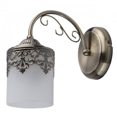 DeMarkt Вита 220020701 Светильник браКлассические<br><br><br>Тип лампы: Накаливания / энергосбережения / светодиодная<br>Тип цоколя: E27<br>Количество ламп: 1<br>Ширина, мм: 120<br>MAX мощность ламп, Вт: 60<br>Длина, мм: 230<br>Высота, мм: 200