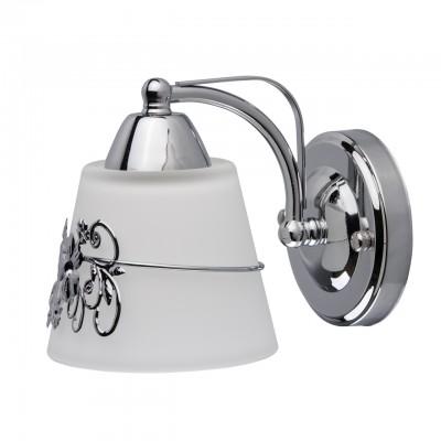 Светильник De Markt 220021601Классические<br><br><br>Тип лампы: Накаливания / энергосбережения / светодиодная<br>Тип цоколя: E14<br>Цвет арматуры: серебристый<br>Количество ламп: 1<br>Ширина, мм: 120<br>Длина, мм: 140<br>Высота, мм: 180<br>MAX мощность ламп, Вт: 40