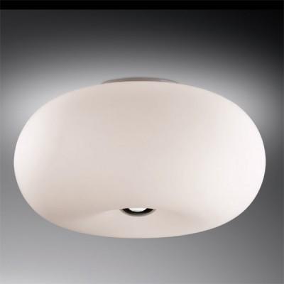 Светильник Odeon Light 2205/3C хром PatiКруглые<br>Настенно-потолочный светильник Odeon Light 2205/3С хром Pati идеалньо подойдет для создания оригинального, неповторимого интерьера! Объемная круглая форма плафона матового белого цвета как будто наполнена воздухом и выглядит броско и эффектно, она идеально впишется в комнату, оформленную в «минималистичном» стиле. Площадь освещения достигает 12 кв.м., поэтому наиболее оптимально использовать светильник в спальне, гостиной или на кухне. Рекомендуем Вам дополнительно<br><br>S освещ. до, м2: 12<br>Крепление: планка<br>Тип лампы: накаливания / энергосбережения / LED-светодиодная<br>Тип цоколя: E27<br>Количество ламп: 3<br>MAX мощность ламп, Вт: 60<br>Диаметр, мм мм: 380<br>Высота, мм: 190<br>Цвет арматуры: серебристый