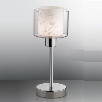 Светильник настольный Odeon light 2210/1T хром IskoСовременные<br>Настольная лампа – это не просто источник дополнительного освещения, но и оригинальный элемент декора. Его можно установить в спальне, гостиной, кабинете и других комнатах. Интернет-магазин «Светодом» предлагает настольные лампы разных стилей по доступным ценам. Благодаря большому ассортименту Вы обязательно найдете в нашем каталоге именно ту модель, которую искали. <br> Настольная лампа Odeon light 2210/1T  – прекрасный вариант для завершения интерьера. Ее можно включить одновременно с люстрой для более яркого освещения или без нее для создания уютной атмосферы, настраивающей на отдых. <br> Купить настольную лампу Odeon light 2210/1T  Вы можете с помощью виртуальной «Корзины» или по контактным номерам, указанным на сайте.<br><br>S освещ. до, м2: 2<br>Тип лампы: галогенная / LED-светодиодная<br>Тип цоколя: G9<br>Количество ламп: 1<br>MAX мощность ламп, Вт: 40<br>Диаметр, мм мм: 124<br>Высота, мм: 315<br>Цвет арматуры: серебристый