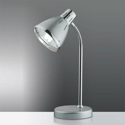 Светильник настольный Odeon light 2222/1T серый HintОфисные<br>Стильная настольная лампа Odeon light 2222/1T создана в лучших традициях безупречного качества специально для современного рабочего пространства, где необходимы яркий световой поток и соответствующий дизайн. С одной стороны, изделие представлено в традиционной классической форме конструкции металлического мерцания, но, с другой, приятно радует особое цветовое наполнение оттенком перламутрово-серебристого блеска: в меру сияющего, престижного и благородного. Всё это придаёт настольной лампе Odeon light 2222/1T особую престижную огранку, что станет неоспоримым достоянием Вашего рабочего пространства, насыщенного светом, современным стилем и вкусом к настоящей моде!<br><br>S освещ. до, м2: 4<br>Тип товара: настольная лампа<br>Тип лампы: накал-я - энергосбер-я<br>Тип цоколя: E27<br>Количество ламп: 1<br>Ширина, мм: 160<br>MAX мощность ламп, Вт: 60<br>Высота, мм: 270<br>Цвет арматуры: серый
