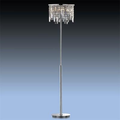 Торшер хрустальный Odeon light 2231/6F LolaХрустальные<br>Торшер – это не просто функциональный предмет интерьера, позволяющий обеспечить дополнительное освещение, но и оригинальный декоративный элемент. Интернет-магазин «Светодом» предлагает стильные модели от известных производителей по доступным ценам. У нас Вы найдете и классические напольные светильники, и современные варианты.   Торшер 2231/6F Odeon light сразу же привлекает внимание благодаря своему необычному дизайну. Модель выполнена из качественных материалов, что обеспечит ее надежную и долговечную работу. Такой напольный светильник можно использовать для интерьера не только гостиной, но и спальни или кабинета.   Купить торшер 2231/6F Odeon light по выгодной стоимости Вы можете с помощью нашего сайта. У нас склады в Москве, Екатеринбурге, Санкт-Петербурге, Новосибирске и другим городам России.<br><br>S освещ. до, м2: 16<br>Тип лампы: галогенная / LED-светодиодная<br>Тип цоколя: G9<br>Количество ламп: 6<br>MAX мощность ламп, Вт: 40<br>Длина, мм: 300<br>Высота, мм: 1630<br>Цвет арматуры: серебристый