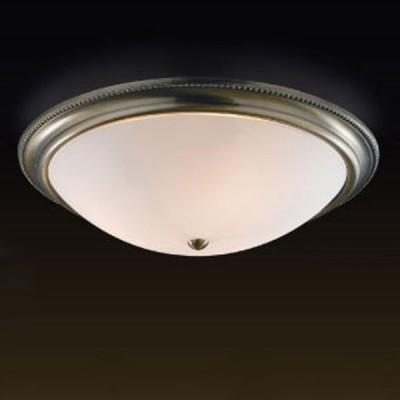 Светильник Сонекс 3231 белый/бронза BrisКруглые<br>Настенно потолочный светильник Сонекс (Sonex) 3231  подходит как для установки в вертикальном положении - на стены, так и для установки в горизонтальном - на потолок. Для установки настенно потолочных светильников на натяжной потолок необходимо использовать светодиодные лампы LED, которые экономнее ламп Ильича (накаливания) в 10 раз, выделяют мало тепла и не дадут расплавиться Вашему потолку.<br><br>S освещ. до, м2: 12<br>Тип лампы: накаливания / энергосбережения / LED-светодиодная<br>Тип цоколя: E27<br>Цвет арматуры: бронзовый<br>Количество ламп: 3<br>Диаметр, мм мм: 520<br>MAX мощность ламп, Вт: 60