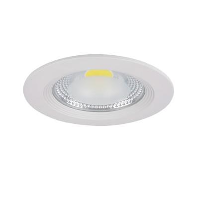 Светильник Lightstar 223152 FORTOКруглые<br><br><br>Цветовая t, К: 3000<br>Тип лампы: LED<br>Тип цоколя: LED<br>Цвет арматуры: белый<br>Диаметр, мм мм: 165<br>Глубина, мм: 50<br>Диаметр врезного отверстия, мм: 135