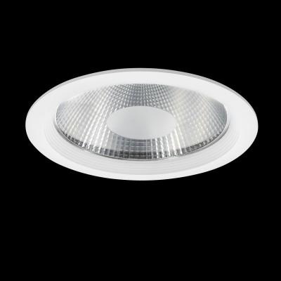 Светильник Lightstar 223402 FortoМеталлические потолочные светильники<br>Врезное отверстие: d195 h85; Внешние габариты: D227 H2; Материал - основание/плафон: металл/металл, стекло; Цвет-основание/плафон: белый; Лампа: LED 40W= 400W, Световой поток: 3600LM; 3000К; Время жизни: Н; Угол рассеивания: 120G<br><br>Цветовая t, К: 3000<br>Тип лампы: LED - светодиодная<br>Тип цоколя: LED, встроенные светодиоды<br>Цвет арматуры: белый<br>Количество ламп: 1<br>Диаметр, мм мм: 227<br>Глубина, мм: 85<br>Диаметр врезного отверстия, мм: 195<br>Поверхность арматуры: матовая<br>Оттенок (цвет): белый<br>MAX мощность ламп, Вт: 40