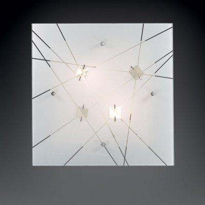 Светильник Сонекс 2235 Opeli белый/хрустальКвадратные<br>Настенно-потолочные светильники – это универсальные осветительные варианты, которые подходят для вертикального и горизонтального монтажа. В интернет-магазине «Светодом» Вы можете приобрести подобные модели по выгодной стоимости. В нашем каталоге представлены как бюджетные варианты, так и эксклюзивные изделия от производителей, которые уже давно заслужили доверие дизайнеров и простых покупателей.  Настенно-потолочный светильник Сонекс 2235 станет прекрасным дополнением к основному освещению. Благодаря качественному исполнению и применению современных технологий при производстве эта модель будет радовать Вас своим привлекательным внешним видом долгое время. Приобрести настенно-потолочный светильник Сонекс 2235 можно, находясь в любой точке России.<br><br>S освещ. до, м2: 8<br>Тип лампы: накаливания / энергосбережения / LED-светодиодная<br>Тип цоколя: E27<br>Цвет арматуры: серебристый<br>Количество ламп: 2<br>Ширина, мм: 400<br>Длина, мм: 400<br>MAX мощность ламп, Вт: 60