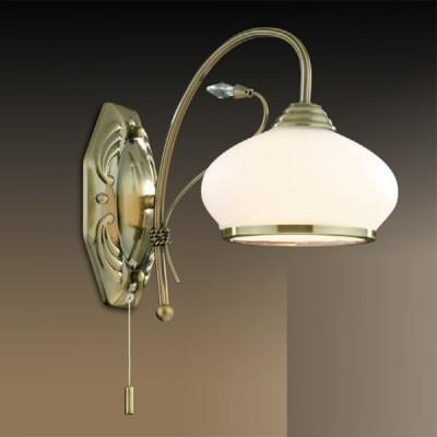 Светильник Odeon Light 2240/1W бронза TeuraРустика<br><br><br>S освещ. до, м2: 4<br>Тип лампы: накаливания / энергосбережения / LED-светодиодная<br>Тип цоколя: E27<br>Количество ламп: 1<br>Ширина, мм: 140<br>MAX мощность ламп, Вт: 60<br>Расстояние от стены, мм: 290<br>Высота, мм: 270<br>Цвет арматуры: бронзовый