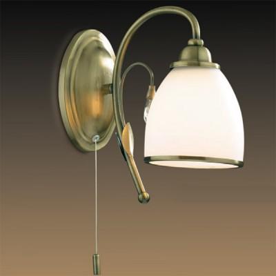 Светильник Odeon Light 2242/1W бронза MidaКлассика<br><br><br>S освещ. до, м2: 4<br>Тип лампы: накаливания / энергосбережения / LED-светодиодная<br>Тип цоколя: E27<br>Количество ламп: 1<br>Ширина, мм: 120<br>MAX мощность ламп, Вт: 60<br>Высота, мм: 240<br>Цвет арматуры: бронзовый
