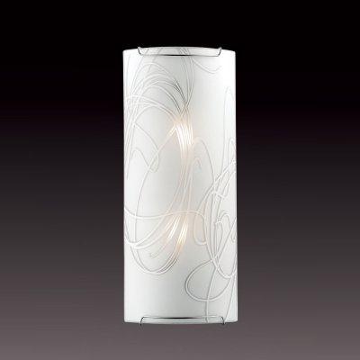 Светильник бра Сонекс 2243 хром/белый MOLANOНакладные<br><br><br>S освещ. до, м2: 8<br>Тип лампы: накаливания / энергосбережения / LED-светодиодная<br>Тип цоколя: E14<br>Количество ламп: 2<br>Ширина, мм: 155<br>MAX мощность ламп, Вт: 60<br>Высота, мм: 365<br>Цвет арматуры: серебристый