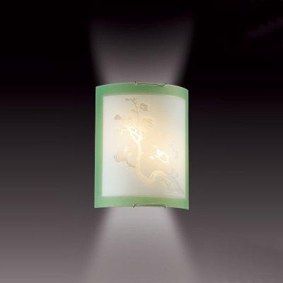 Светильник Сонекс 2245 зеленый/хром SakuraПрямоугольные<br>Настенно потолочный светильник Сонекс (Sonex) 2245 подходит как для установки в вертикальном положении - на стены, так и для установки в горизонтальном - на потолок. Для установки настенно потолочных светильников на натяжной потолок необходимо использовать светодиодные лампы LED, которые экономнее ламп Ильича (накаливания) в 10 раз, выделяют мало тепла и не дадут расплавиться Вашему потолку.<br><br>S освещ. до, м2: 8<br>Тип лампы: накаливания / энергосбережения / LED-светодиодная<br>Тип цоколя: E27<br>Количество ламп: 2<br>Ширина, мм: 215<br>MAX мощность ламп, Вт: 60<br>Высота, мм: 275<br>Цвет арматуры: серебристый