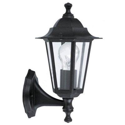 Eglo LATERNA 4 22468 светильник уличныйНастенные<br>Обеспечение качественного уличного освещения – важная задача для владельцев коттеджей. Компания «Светодом» предлагает современные светильники, которые порадуют Вас отличным исполнением. В нашем каталоге представлена продукция известных производителей, пользующихся популярностью благодаря высокому качеству выпускаемых товаров.   Уличный светильник Eglo 22468 не просто обеспечит качественное освещение, но и станет украшением Вашего участка. Модель выполнена из современных материалов и имеет влагозащитный корпус, благодаря которому ей не страшны осадки.   Купить уличный светильник Eglo 22468, представленный в нашем каталоге, можно с помощью онлайн-формы для заказа. Чтобы задать имеющиеся вопросы, звоните нам по указанным телефонам.<br><br>Тип лампы: накаливания / энергосбережения / LED-светодиодная<br>Тип цоколя: E27<br>MAX мощность ламп, Вт: 60<br>Длина, мм: 165<br>Расстояние от стены, мм: 215<br>Высота, мм: 350<br>Оттенок (цвет): прозрачный<br>Цвет арматуры: черный<br>Общая мощность, Вт: 2